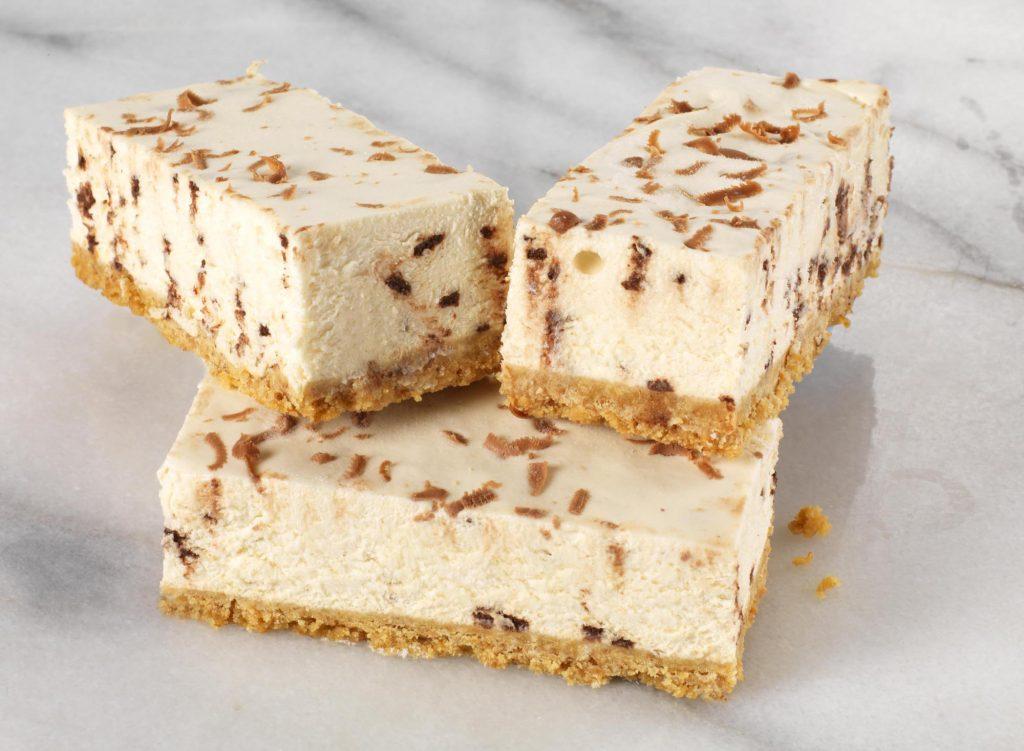 Baileys Cheesecake Traybake