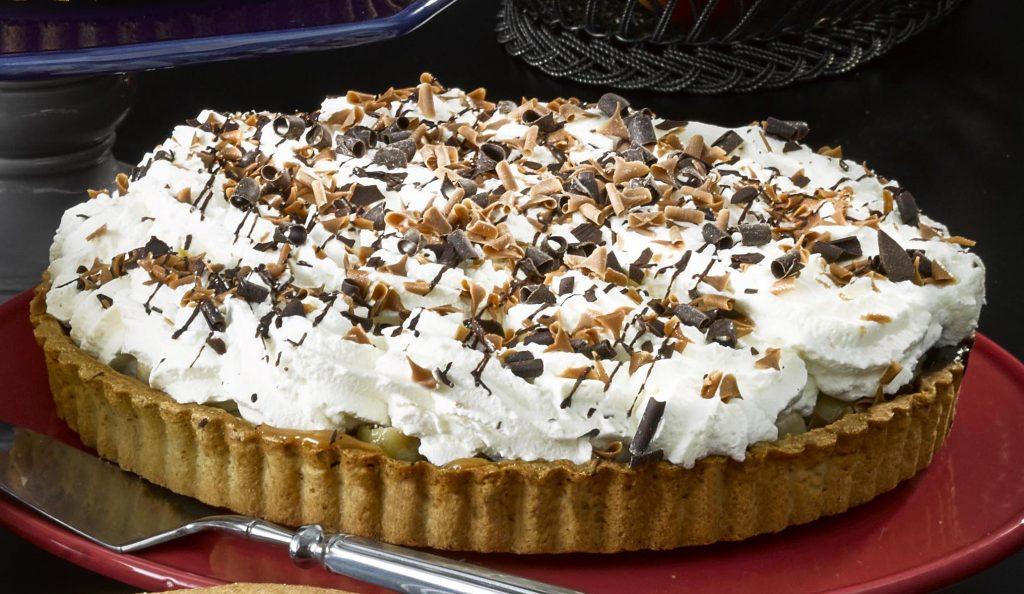 Banoffi Pie Round