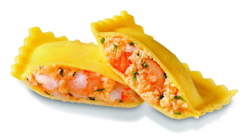 Tortelli with Crab, Lobster & Prawn